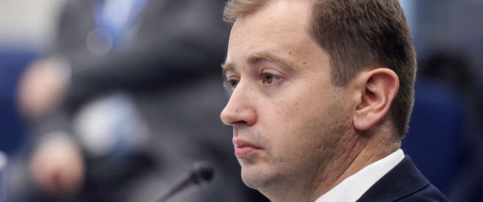 PHOTO: President of the Russian-American Chamber of Commerce in the USA Sergei Millian attends the investment summit during the National Oil & Gas Forum at the Central Exhibition Complex Expo Center.