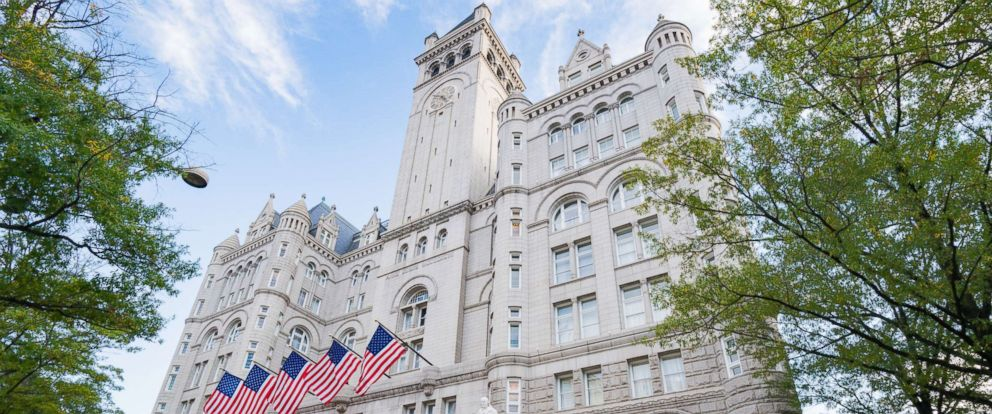 PHOTO: General view of the Trump International Hotel Washington, D.C. at the Old Post Office, Oct. 31, 2016, in Washington.