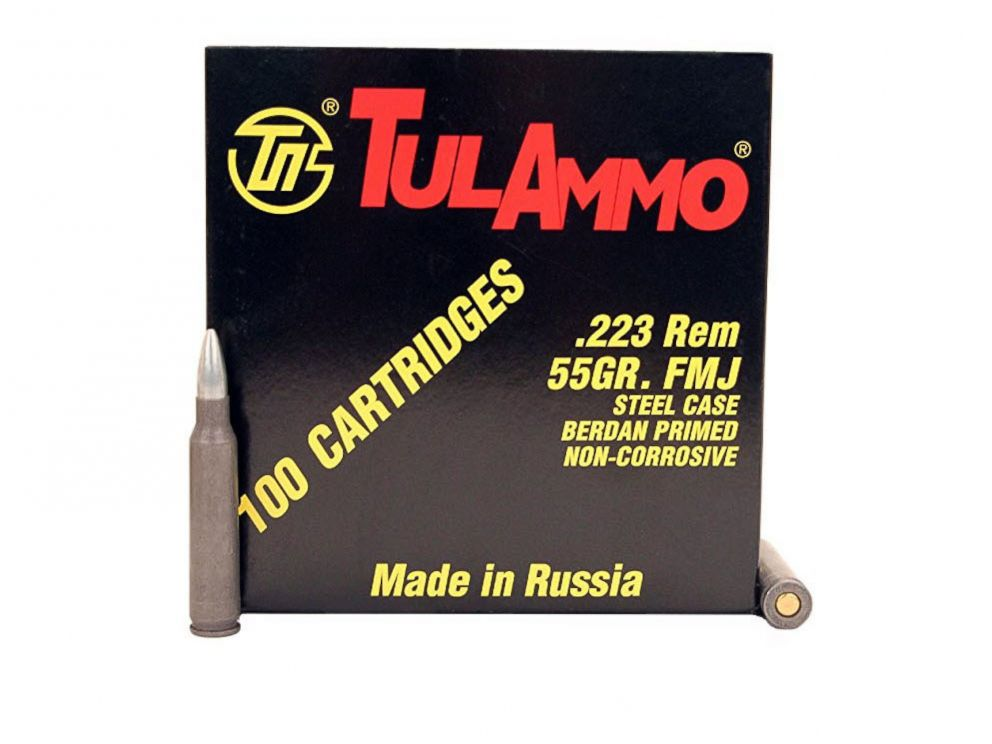 PHOTO: A Tul Ammo product photo.