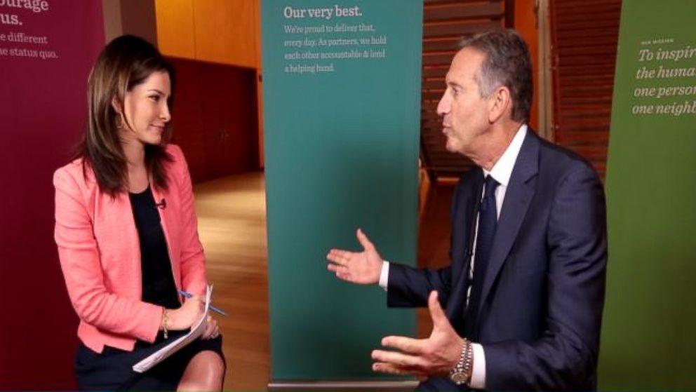 VIDEO: Real Biz Rapid Fire: Starbucks CEO Howard Schultz Reveals His Guilty Pleasure