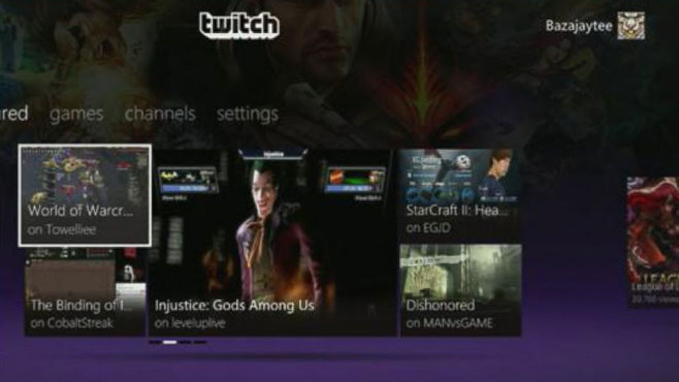 Amazon Buys Video Game-Streaming Service 'Twitch' for $970M