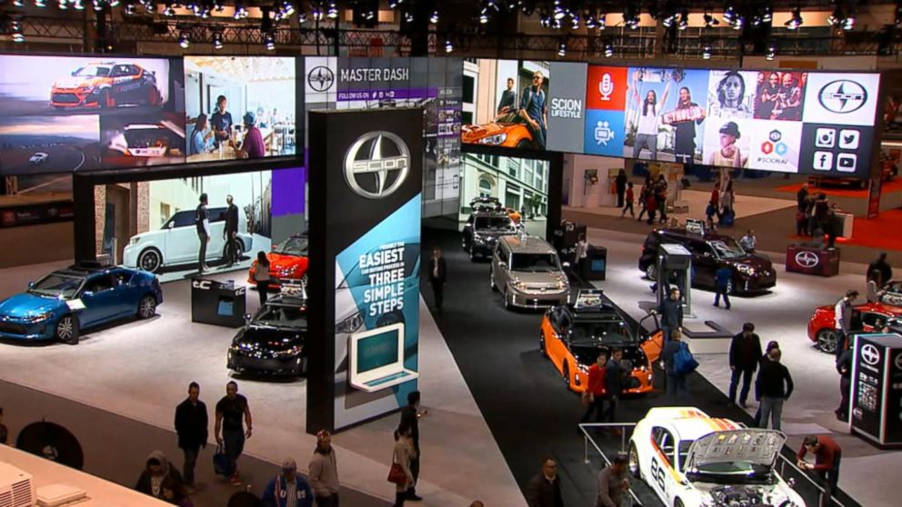 Dream Vehicles Star In The Nation S Biggest Auto Show Video Abc News