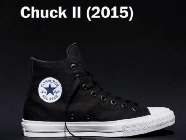Converse Chuck Taylor Get First Makeover in Nearly 100 Years