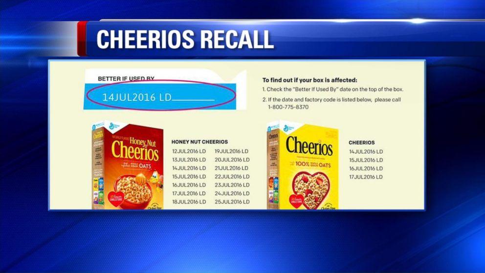 General Mills Recalls Cheerios Mislabeled as Gluten-Free