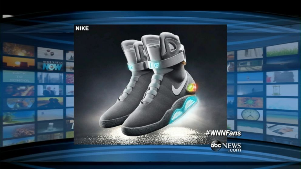 96e764f444a Nike Sending First 'Back to the Future' Self-Tying Shoes to Michael ...