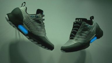 Now Playing: Nike to Sell Self-Lacing Shoes for 2016 Holiday Season