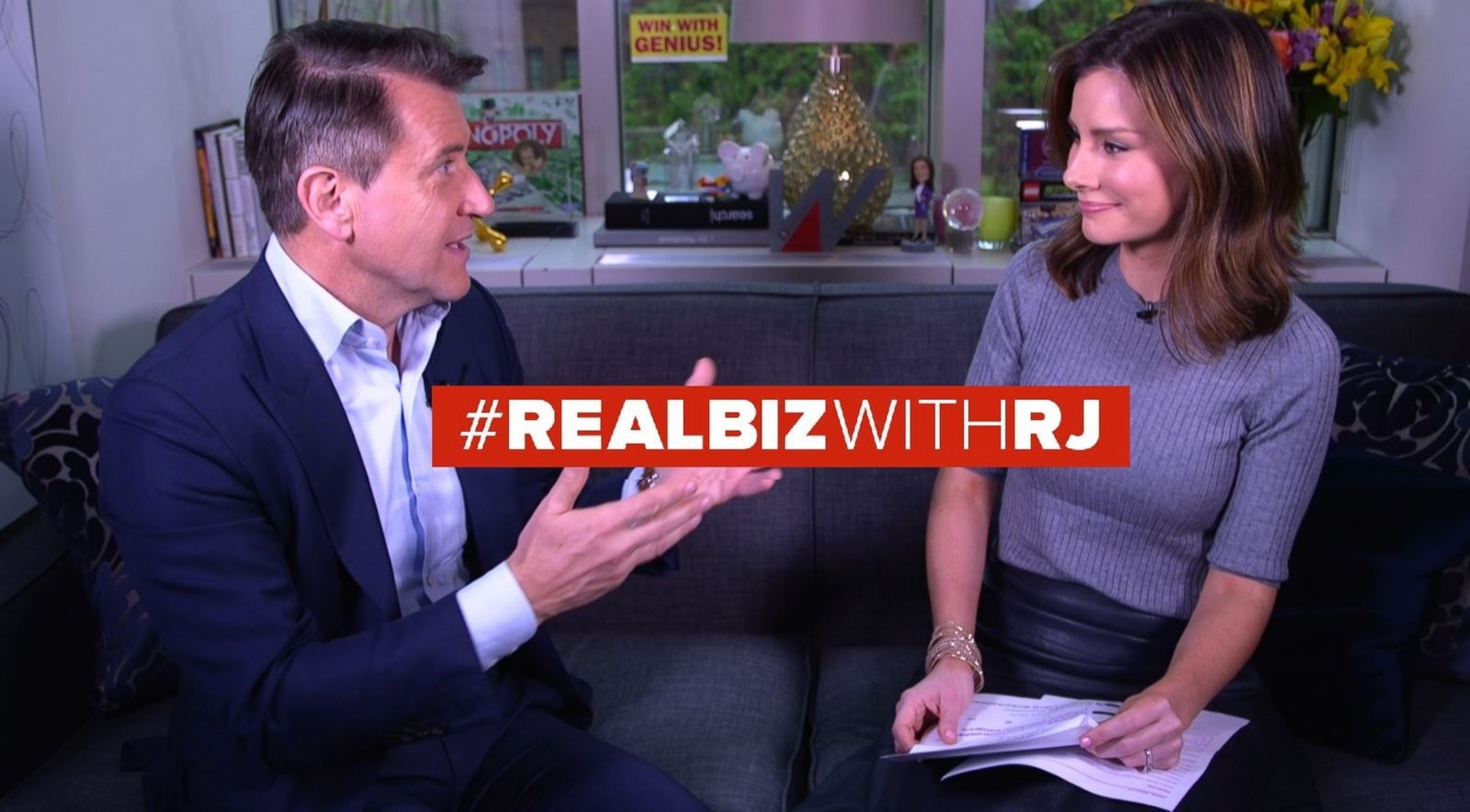 Robert Herjavec on Real Biz with Rebecca Jarvis