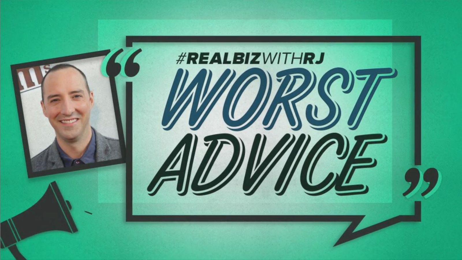 Worst Advice: Tony Hale