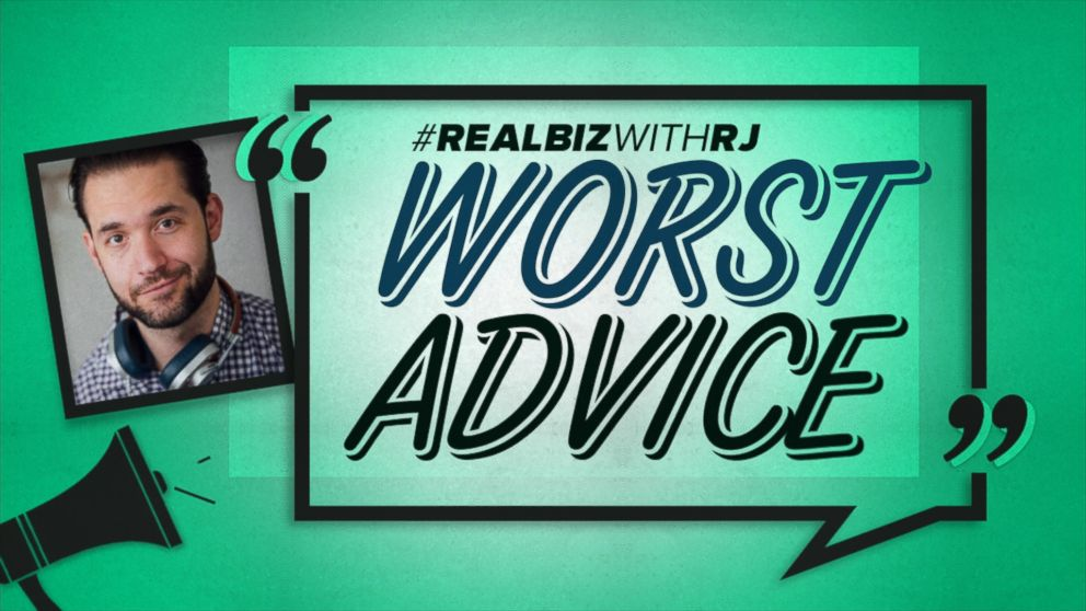 Worst Advice: Reddit Co-Founder Alexis Ohanian