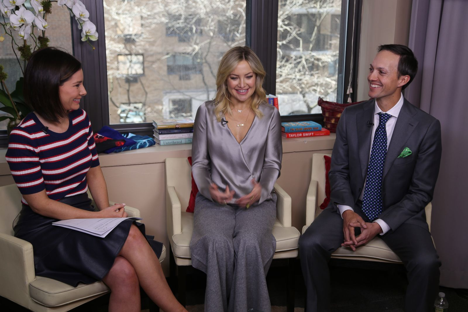 Kate Hudson talks Fabletics on 'Real Biz With Rebecca Jarvis'
