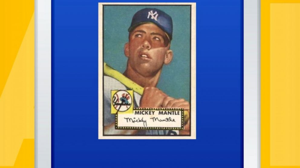 1952 Mickey Mantle Baseball Card Sells For 288 Million