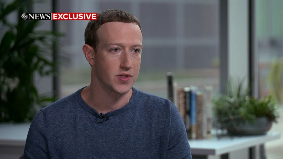 The Facebook CEO says his company has been more proactive about seeking out where there might be issues and making investments to handle them.