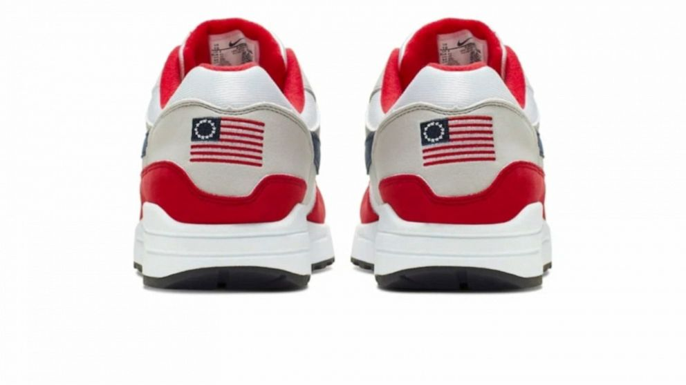 Nike pulls 'Betsy Ross' flag sneakers after reported