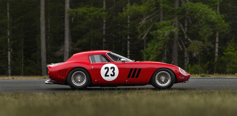 PHOTO: A 1962 Ferrari 250 GTO.