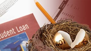 Retirement plan rules, Social Security, student loans and other forms of debt
