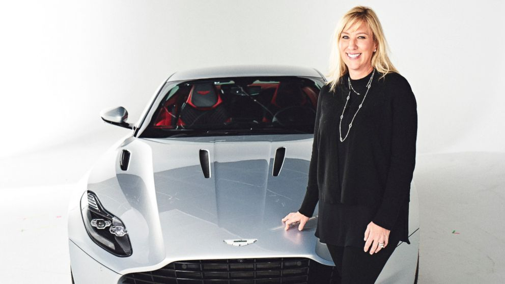 A Woman In The Driver S Seat Aston Martin S 1st Female President Has A Message For Young Girls Abc News