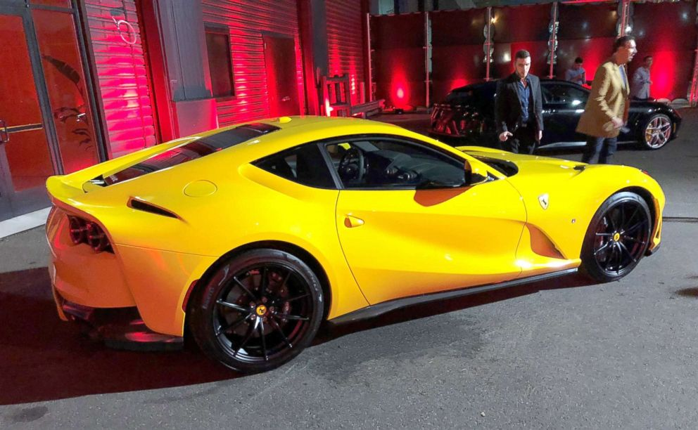 Pictured is a Ferrari 812 Superfast.