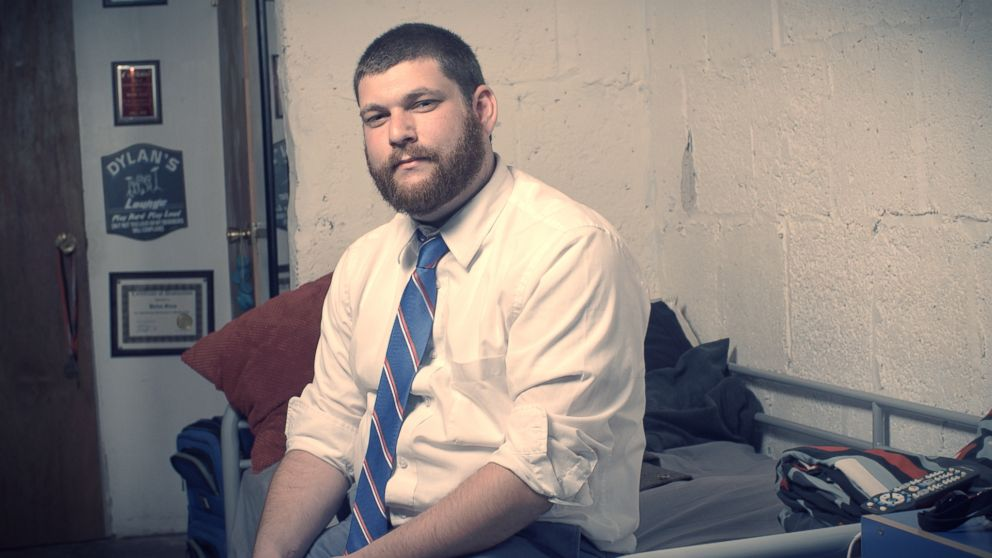 Brooklyn Skyrockets owner Dylan Gioia sits in his headquarters in Brooklyn, NY.