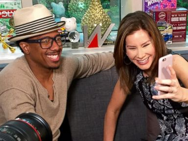 PHOTO: Nick Cannon joins Rebecca Jarvis on episode 95 of Real Biz with Rebecca Jarvis.