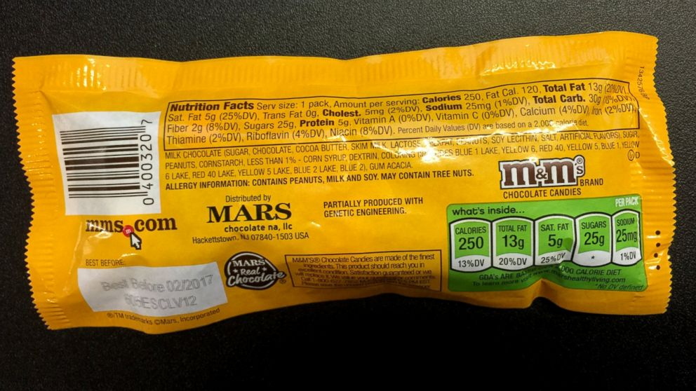 Candy Maker Mars Adding GMO Labeling to