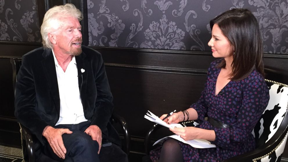 Richard Branson on 'Real Biz With Rebecca Jarvis'
