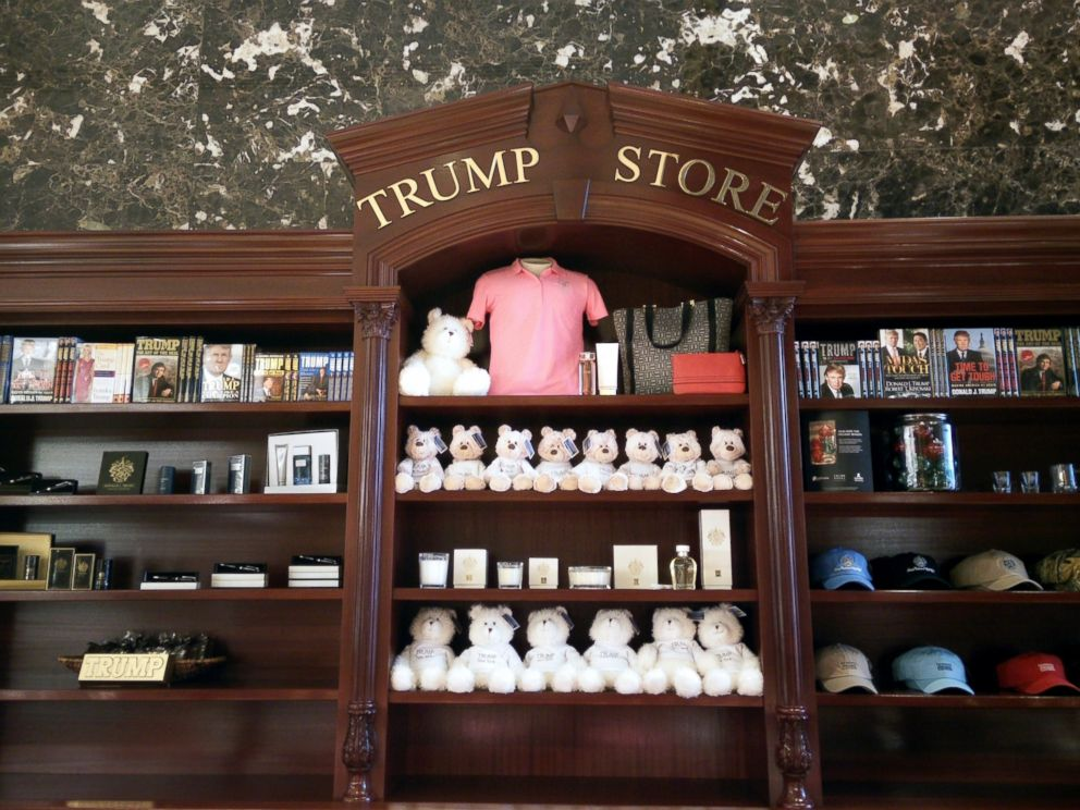 PHOTO: The Trump Store in the Trump Tower on New Yorks Fifth Avenue.