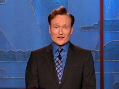 VIDEO: Conan OBrien delivers a classy end to the 7-month run of The Tonight Show.
