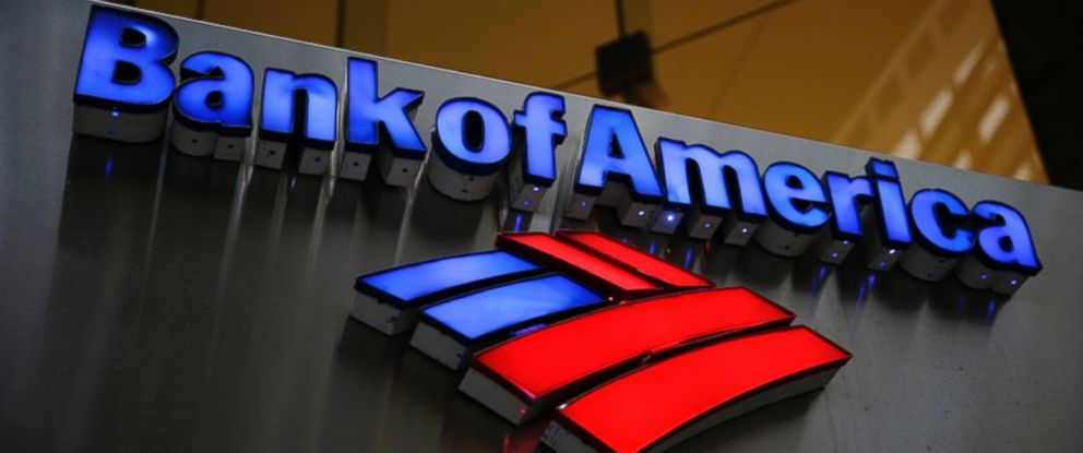 PHOTO: A Bank of America sign is seen in Philadelphia, Jan. 14, 2014.