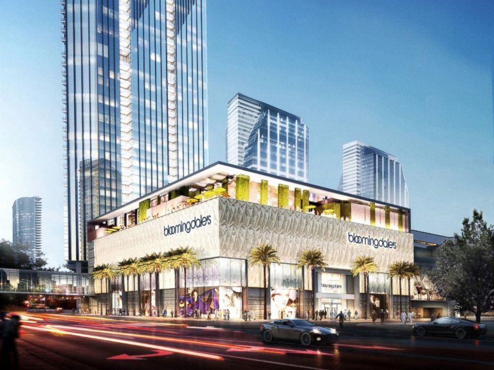 First Overseas Macy's to Anchor Mall With 7,000 Parking ...