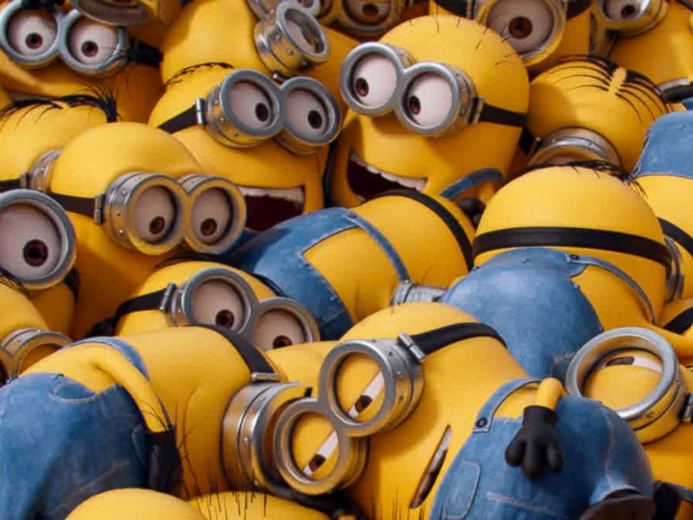 PHOTO: Various minion characters appear in a scene from the animated feature, Minions.
