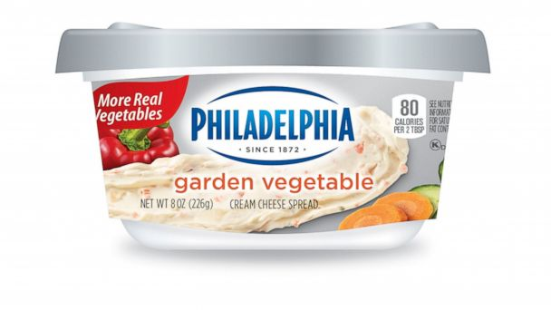 PHOTO: Philadelphia Cream Cheese Spreads now have more fruits and vegetables in their most popular flavors.