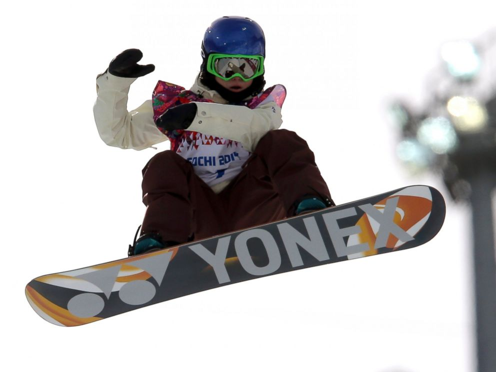 PHOTO: Spains Queralt Castellet competes in the womens snowboard halfpipe qualifying, at the Rosa Khutor Extreme Park, at the 2014 Winter Olympics, Feb. 12, 2014, in Krasnaya Polyana, Russia.
