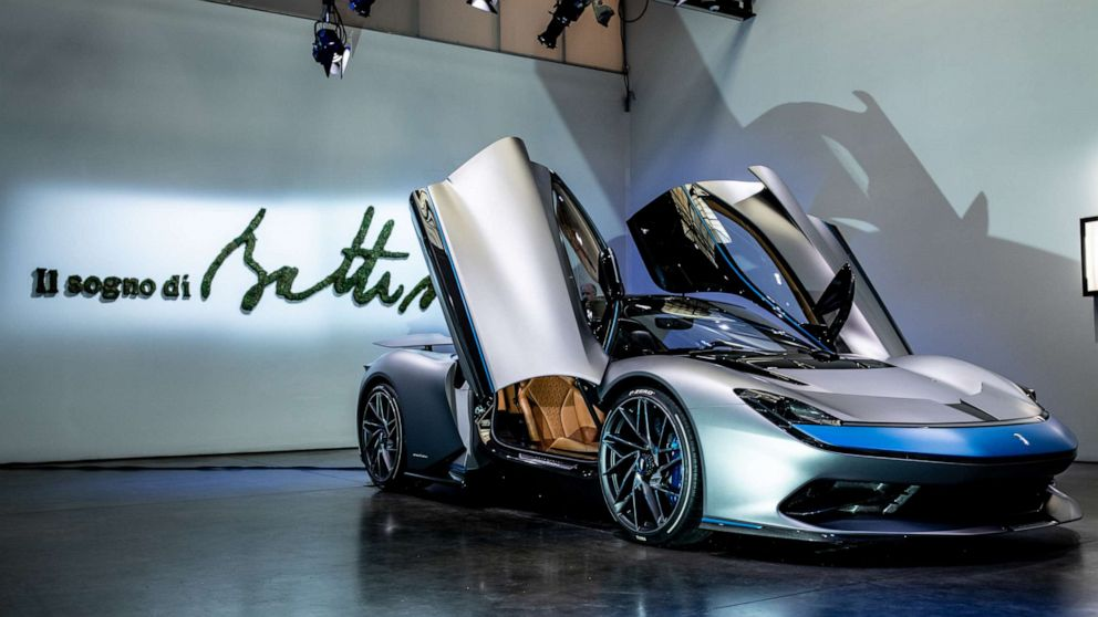 When Supercars Go Electric The 2m Battista Is Faster Than