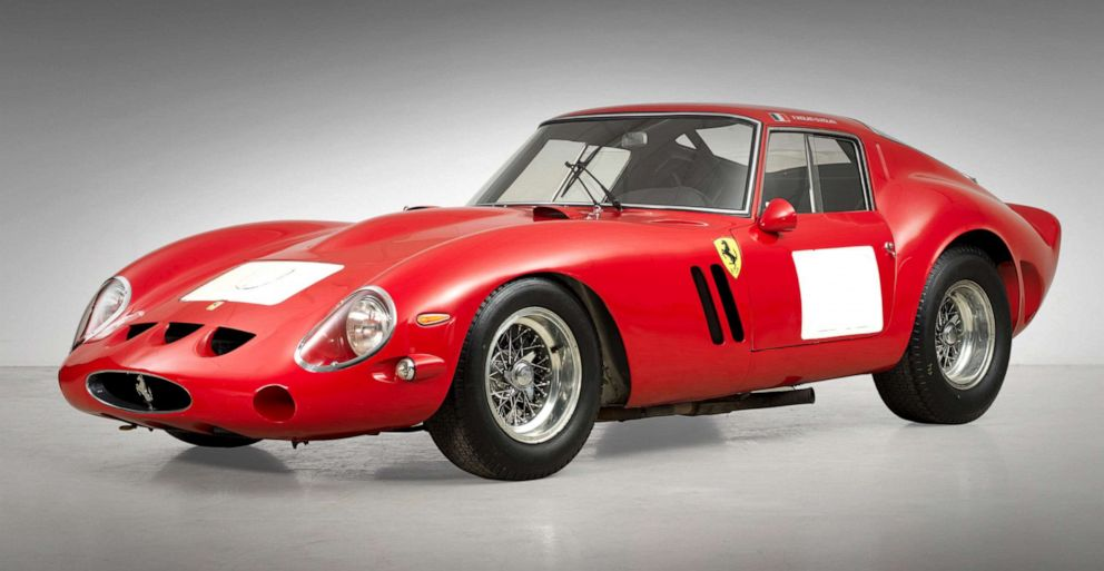 PHOTO: A 1962 Ferrari 250 GTO Berlinetta went for $38.1 million at a Bonhams auction in Carmel, California, August 2014.