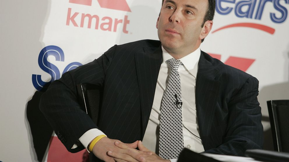 "Edward ""Eddie"" Lampert, CEO of Sears Holdings Corporation, denies using a pseudonym to pose as an employee on an internal social networking system."