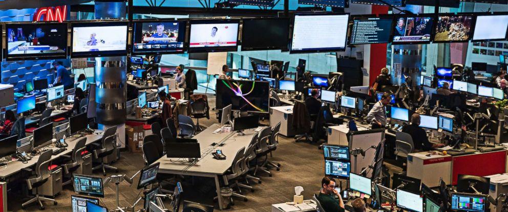 PHOTO:The newsroom at CNN World Headquarters in Atlanta, Ga. Nov. 14, 2015.