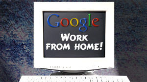 Google work-from-home scams