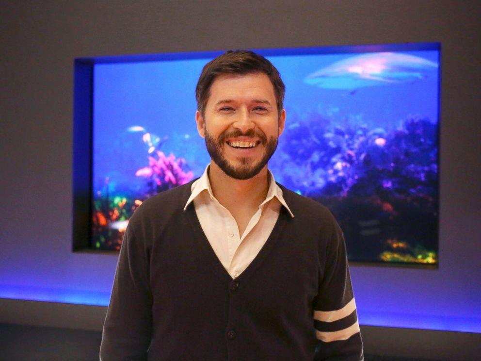 PHOTO: John Tabis is seen on the set of Shark Tank, April 4, 2014.