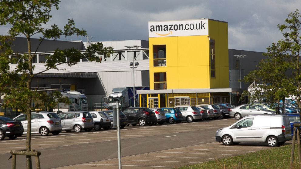 Amazon distribution center headquarters in Swansea, West Glamorgan, South Wales, U.K.
