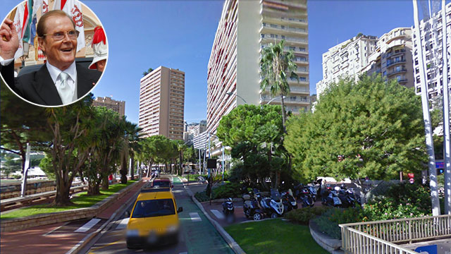 PHOTO:Avenue Princesse Grace, Monaco