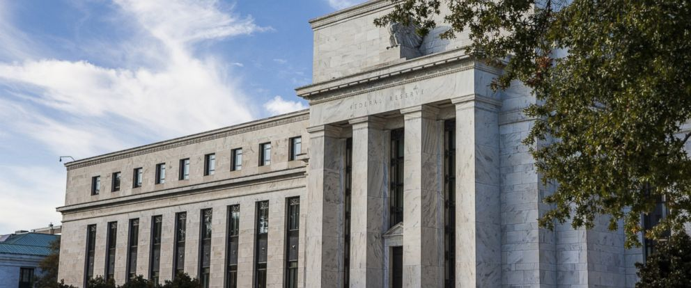PHOTO: A general view of the Federal Reserve Building in Washington on Oct. 27, 2014.