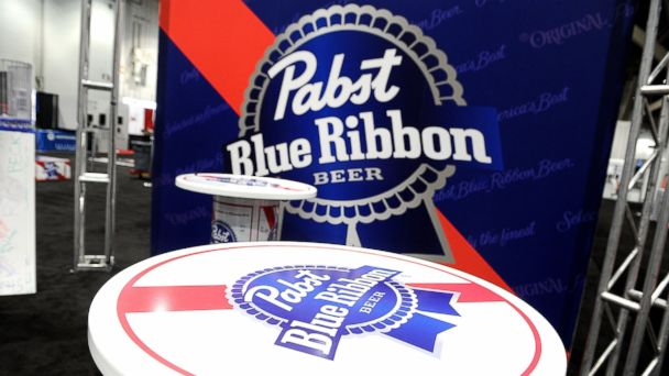 PHOTO: View of the Pabst Blue Ribbon booth during the 28th annual Nightclub & Bar Convention and Trade Show at the Las Vegas Convention Center in this March 21, 2013, file photo.