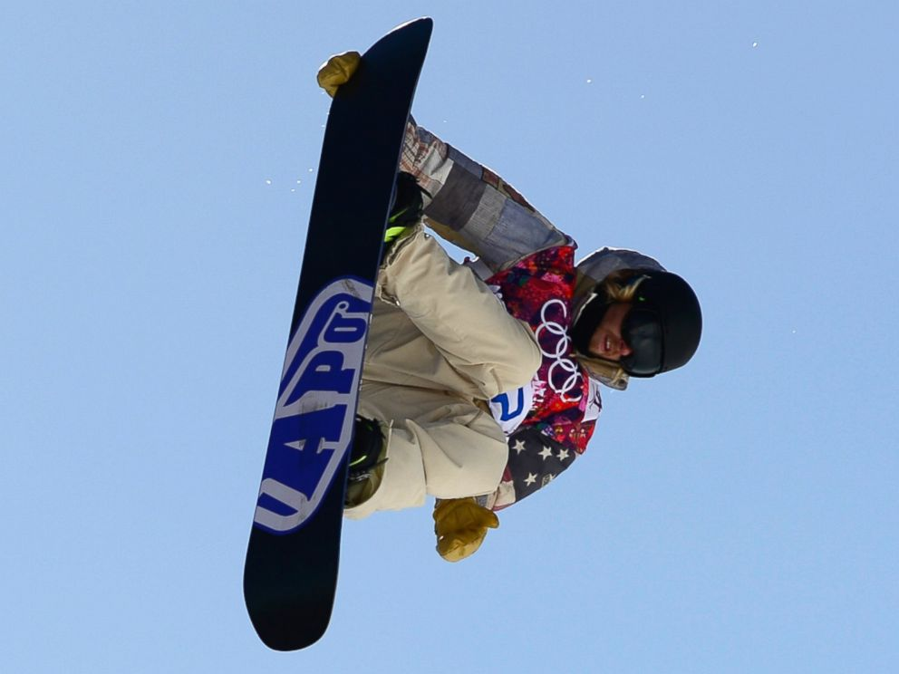 PHOTO: Sage Kotsenburg of the U.S. competes in the mens snowboard slopestyle second heat qualification at the Rosa Khutor Extreme Park during the Sochi Winter Olympics, Feb. 6, 2014.