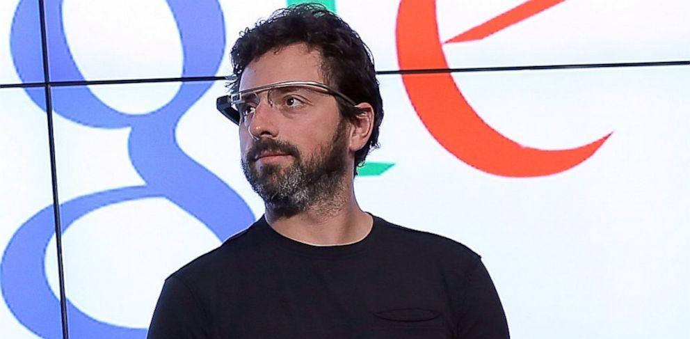 PHOTO: Google co-founder Sergey Brin