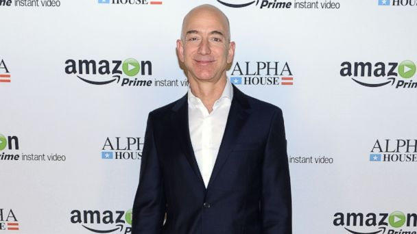 "PHOTO: Amazon.com founder and CEO Jeff Bezos attends Amazon Studios Premiere Screening for ""Alpha House"" in this Nov. 11, 2013, file photo."