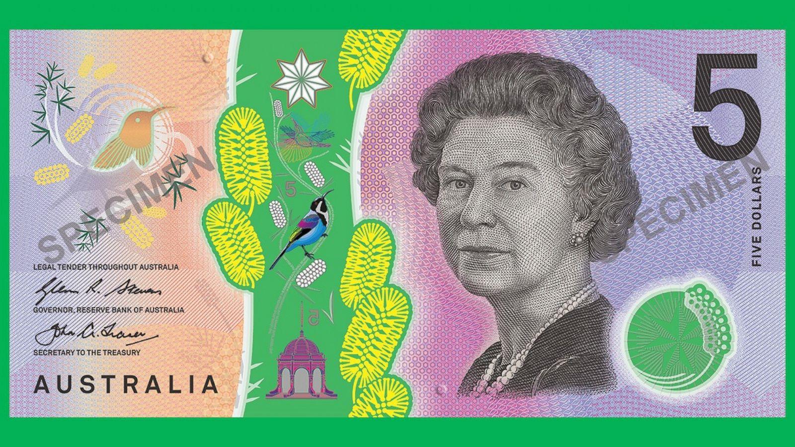 New Australian 5 Bill Design Sparks The Latest