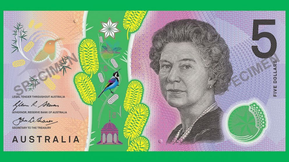 New Australian 5 Bill Design Sparks