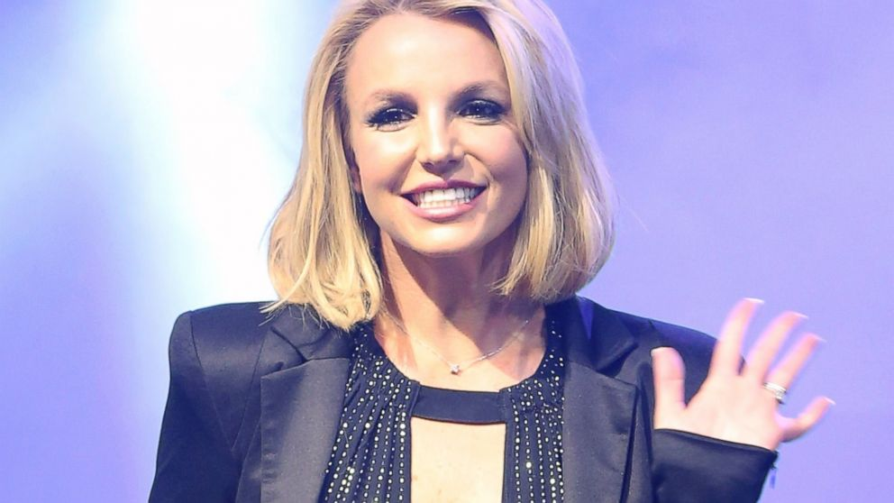 """Britney Spears attends a """"Britney Day"""" event at The LINQ Promenade held to celebrate her Las Vegas residency show """"Britney: Piece of Me,"""" Nov. 5, 2014, in Las Vegas."""