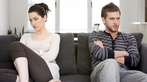 PHOTO: Your credit could take a hit if you break up. Heres how to ease the financial pain.