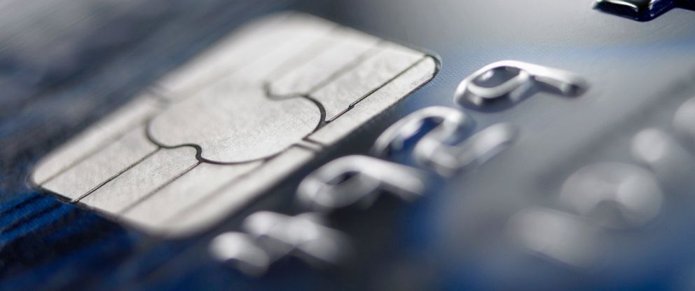 PHOTO: A credit card chip is pictured in this stock image.